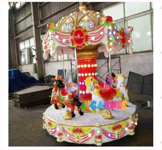6 Seats Mini Carousel 4