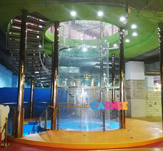 2.8m indoor skydiving wind tunnel