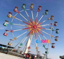 30m Flower Basket Ferris Wheel