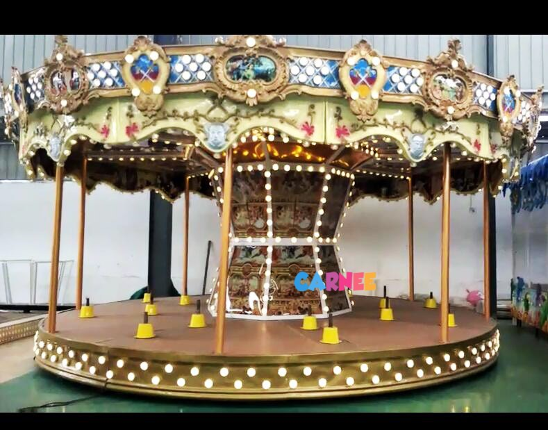 traditional european merry go round