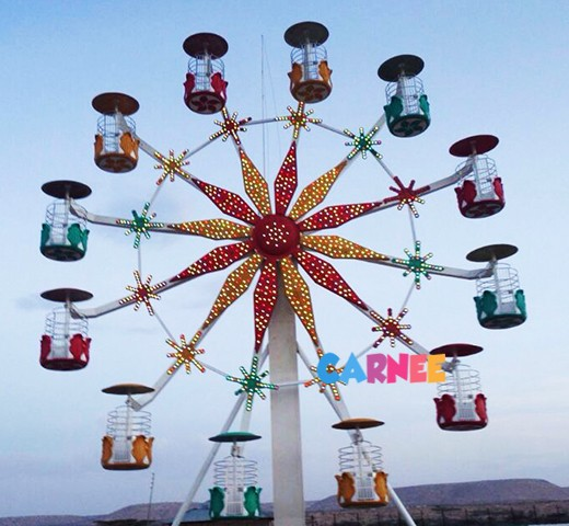 20m flower basket style ferris wheel