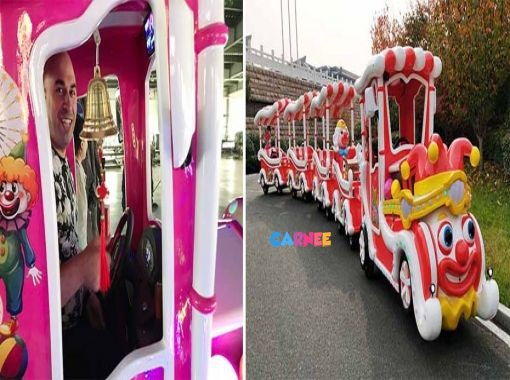 Client Visit for Shopping Mall Amusement Train Ride